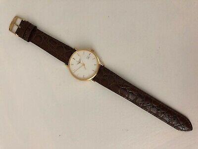 Longines Prestige 18k Solid yellow gold 33mm Men's Swiss quartz watch L4 743 6
