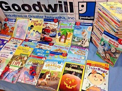 RANDOM (LOT of 10) LEVEL 1 GRADE early readers learning phonics children books