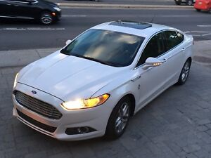 Ford Fusion SE 2013 FULLY Loaded-Camera-Sunroof-Leather seat