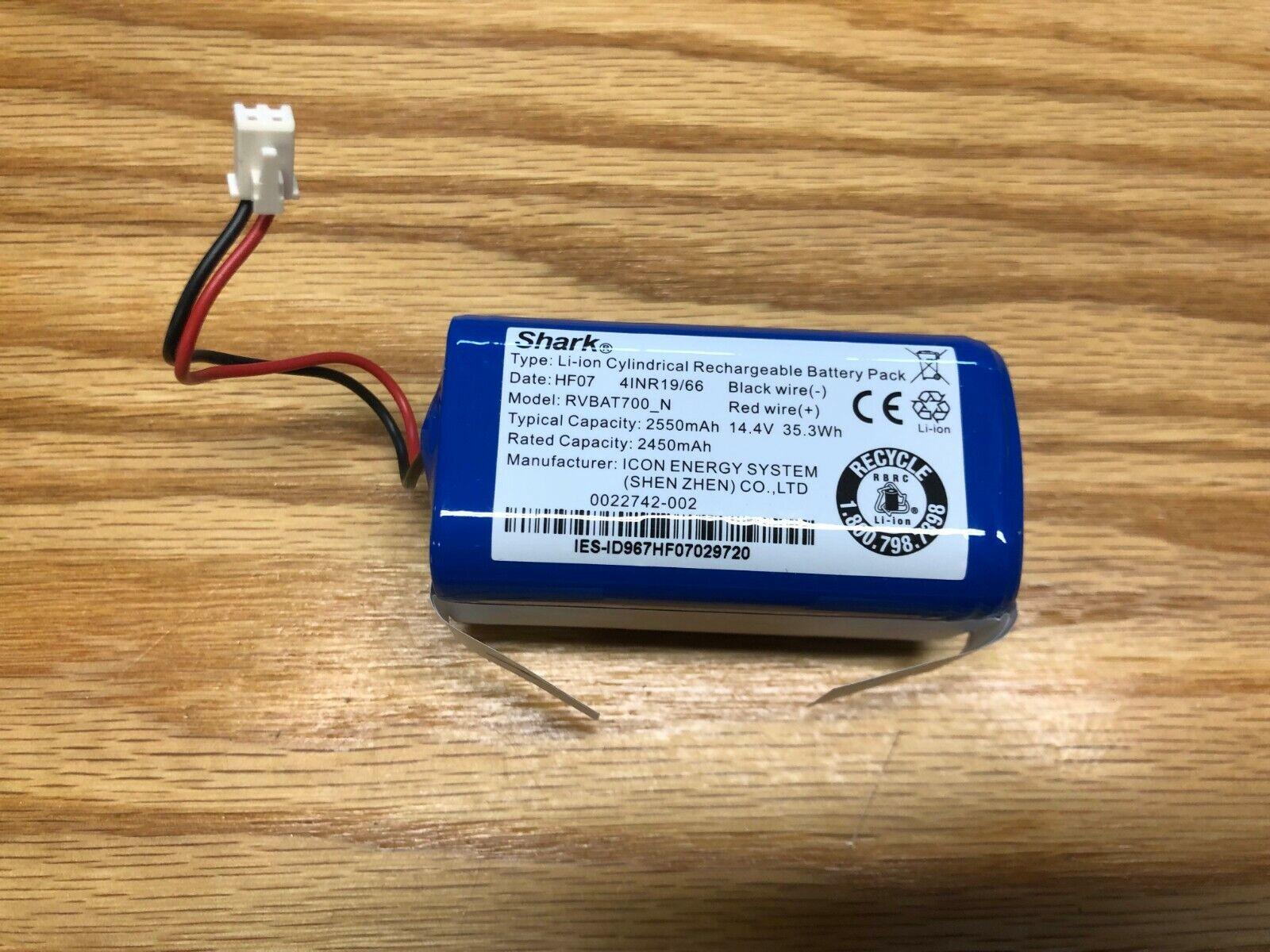 Shark Ion RV750, RV755 Robot Vacuum - - - -rvbat700_n Batter