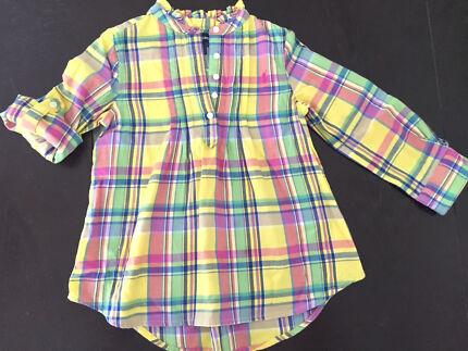 Ralph Lauren girls tunic shirt - size 3