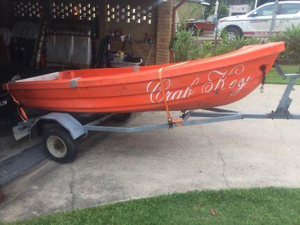 Poly boat 3m tinny dinghy tender