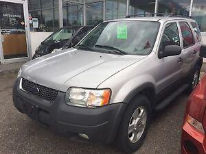 2003 Ford Escape 4x4