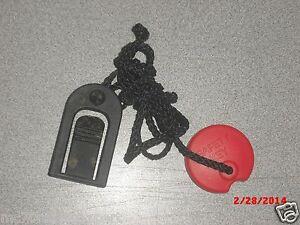 Substitute Sportcraft Safety Key TX2.5 TX4.9 TX5.0 TX6.0 TX500 TC49 TX455 TX420