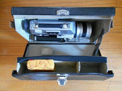 Canon Auto Zoom 814 Super 8 Movie Camera in case