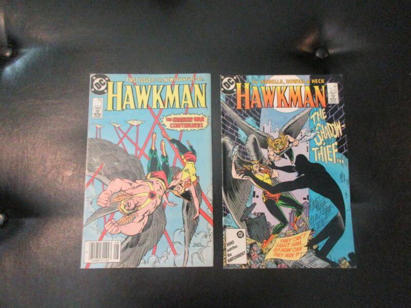 Hawkman 1-10 1986 2nd Series DC Comics Very Fine