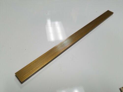 "(1) 1/4"" x 1"" C360 BRASS FLAT BAR 12"" long Solid .250"" Mill Stock H02"