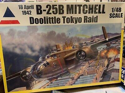 NIB 1/48 Accurate Miniatures B25B Mitchell 1/48 Doolittle Tokyo Raid