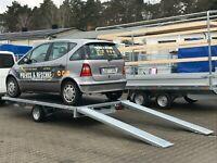 ⭐️ Eduard Auto Transporter 1500 kg 330x180  Rampen Winde 56 Brandenburg - Schöneiche bei Berlin Vorschau