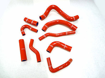 OBX HP 4Ply Silicone Radiator Hose Set for 13 14 15 16 Dodge Dart 2.0L 2.4L  Red