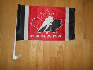 TEAM CANADA CAR FLAG
