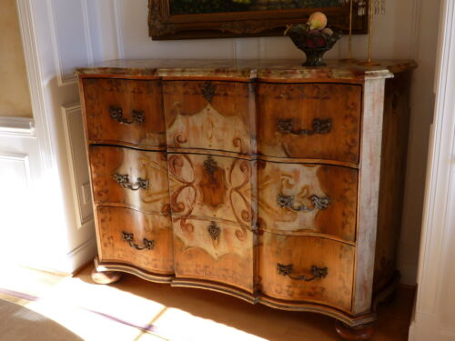 "Habersham Plantation ""Camden "" Chest - Handpainted  66 x 21 x 46"