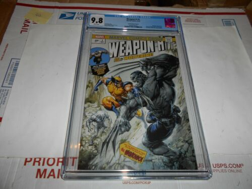 WEAPON H #1 CGC 9.8 CRAIN VARIANT (CGC MIS-LABEL) (COMBINED SHIPPING AVAILABLE)
