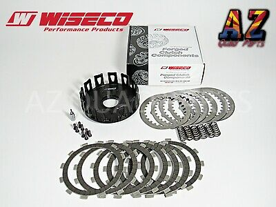 05-19 Yamaha YZ125 YZ 125 Wiseco Black Heavy Duty Clutch Basket Fibers Springs