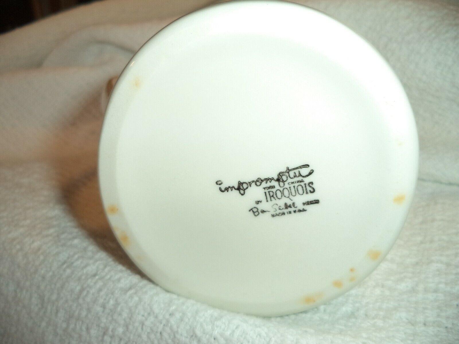 Vintage Iroquois China Impromptu Ben Seibel Grape Leaves Creamer Pitcher - $8.95