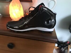 Under armour football cleats.  Size 14 mens