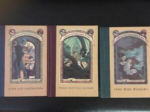 Books - A series of Unfortunate Events