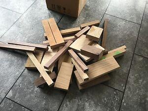 mixed hardwood off cuts