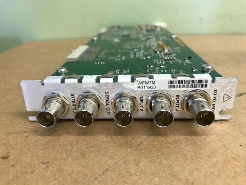 TEKTRONIX WFM7M HD SDI INPUT MODULE SD PIX MON FOR WFM700 WAVEFORM MONITOR