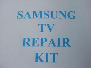 Samsung-LE40M87BDX-LE40R88BD-PSU-repair-kit-clicking-slow-BN44-00167A