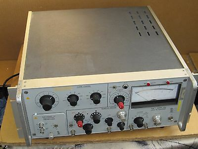 Princeton Applied Research Par 126 Lock-in Amplifier With Par 117 Differential P
