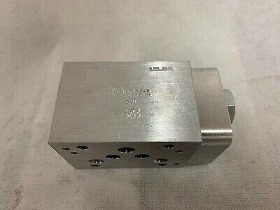 Sun Hydraulics Hydraulic Manifold Djt 8jp9 9ca4