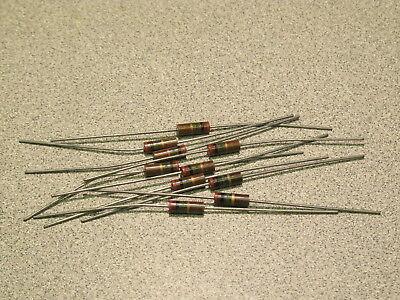 20pcs Lanl Allen Bradley 2.0 Megohm 12w 5 Carbon Comp Resistors