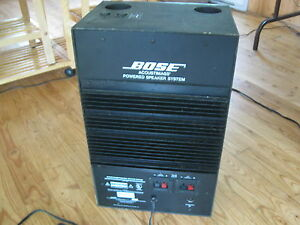 un bose acoustimass powered speaker system Québec City Québec image 3