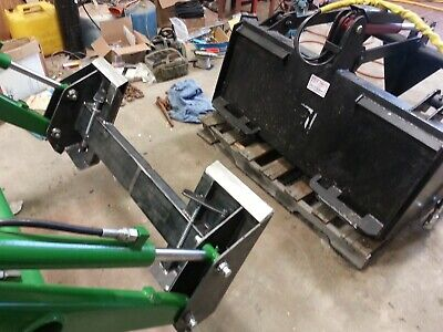 John Deere 70 Series Loader To Skid Steer Quick Hitch