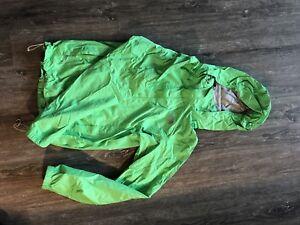 Green North Face Rain Jacket