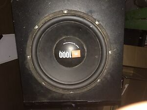 For sale two jbl 12 inch subs used but work great