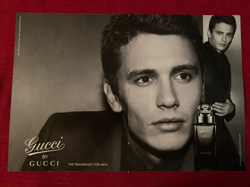 Gucci Men's Cologne by Gucci 2011 Ad/Poster Promo Art Ad
