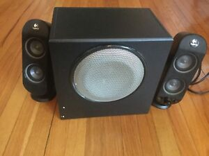 Logitech x-230 speakers for computer