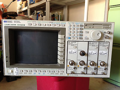 Hp Agilent 54720d 2ghz 4 Channel Real-time Modular- Monitro Needs To Be Repair