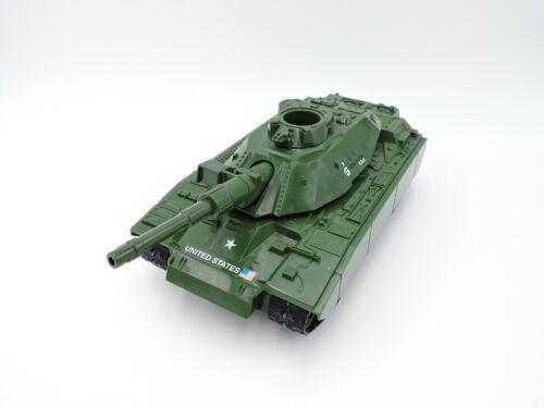 MOBAT green motorized battle tank G.I. JOE 1998 Hasbro NOT WORKING 11-in 2008 GI