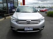 2010 Toyota Kluger KX-R(FWD) 7 Seater Traralgon East Latrobe Valley Preview