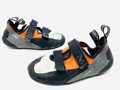 Mad Rock Flash 18 Climbing Shoes Women's Size 10 US Black Orange Nice