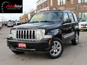 2009 Jeep Liberty Limited Edition 4X4 Leather-Sky Roof
