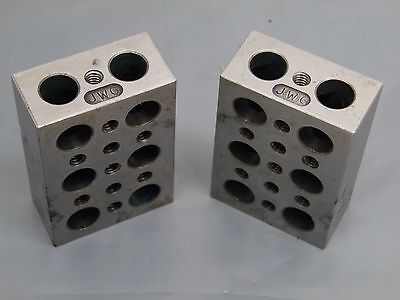 Pair Of Machinist Toolmaker Grinding 1-2-3 Blocks Machinist Made 1x2x3 1