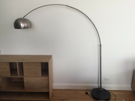Arc floor lamp as new condition