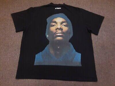 2016 16AW Vetements Snoop Dogg Back Print Oversized Rap Hip Hop Tee T Shirt XS