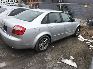 2004 Audi A4 1,8T Complete Part Out