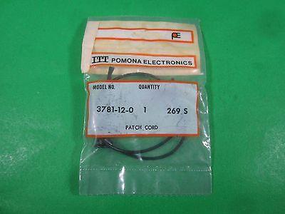 Itt Pomona Electronics -- 3781-12-0 -- Lot Of 3 New