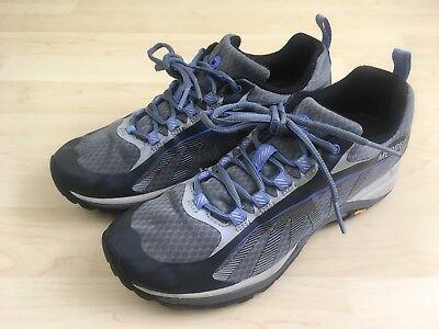- Merrell Womens Gray Blue Hiking Shoes Siren Edge J35516 Size 7.5 US 38 EUR