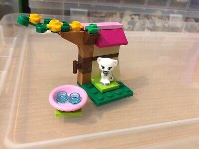 Lego Friends Animals White Cat And Scenery Mini Set