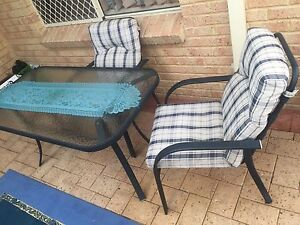 Outdoor setting ( wide chairs) Yokine Stirling Area Preview