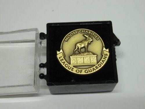 Loyal Order of Moose Charities League of Guardians Pin  New