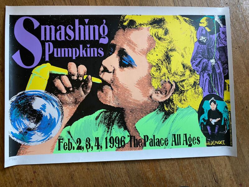 Smashing Pumpkins Concert Poster Frank Kozik Signed & Numbered 1996 Print