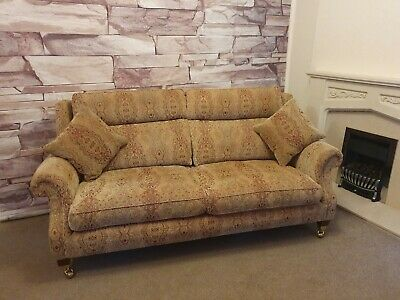 PARKER KNOLL BURGHLEY 3 SEATER SOFA RRP £1938