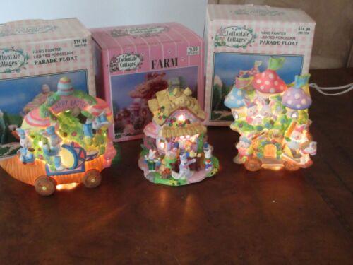 COTTONTALE COTTAGES Collection Lot Parade Float Farm Easter Village Bunny (F5)